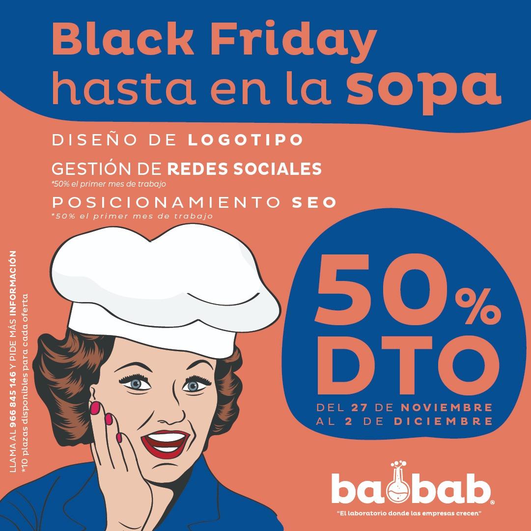 Black Friday agencia de marketing Alicante